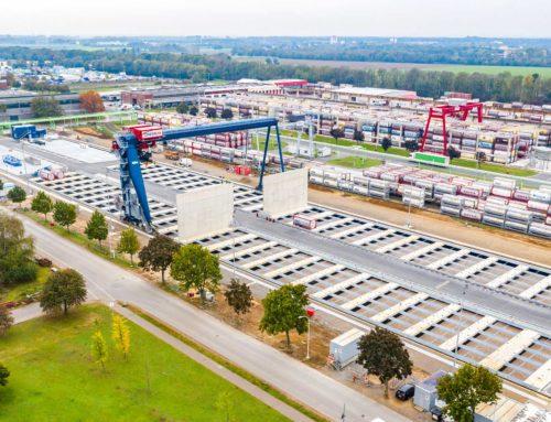 Chemion nimmt neues Containerterminal in Betrieb