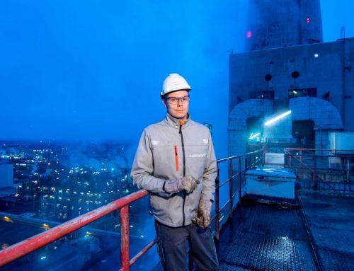 Nachtschicht im Kraftwerk